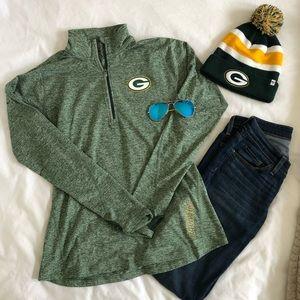 Nike Dri-FIT Packers Women's 1/2 Zip Top